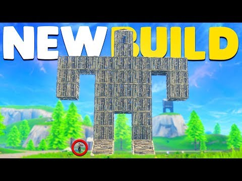 BUILDING A GIANT ROBOT and WINNING In Fortnite Battle Royale!