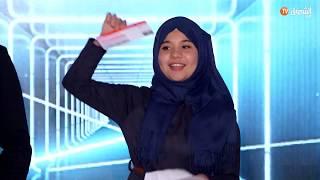 المخترعة الجزائرية رقية دراوي تقصى من تصفيات نجوم العلوم وتفشل في دخو المختبر في الدوحة