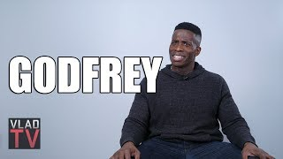 Video Godfrey: H&M Mother Should've Been Punched for Letting Son Wear Sweater (Part 6) MP3, 3GP, MP4, WEBM, AVI, FLV September 2018