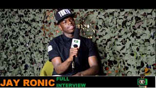 "Jay Ronic Talks about his music,""Jellof rice & Da Vinci"" tracks (Interview)"