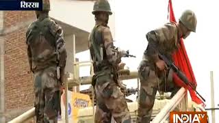 Ram Rahim convicted: Army enters Dera Sacha Sauda headquarters in Sirsa