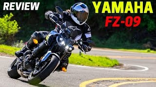 5. NEW 2017 Yamaha FZ-09 Specs Review