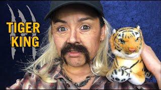 TIGER KING JOE EXOTIC MAKEUP TUTORIAL! by Kat Sketch