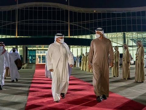 HRH the Crown Prince and Prime Minister departs the UAE