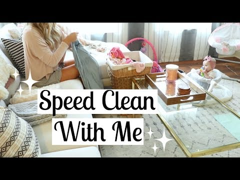 SAHM POWER HOUR CLEAN WITH ME | CLEANING MOTIVATION | Tara Henderson (видео)
