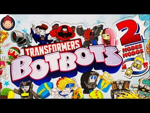 Transformers Toys Transformers BotBots Series 2 Unboxing Video