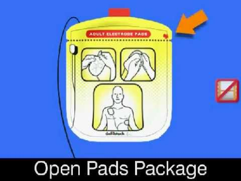 Preparing the patient for AED use