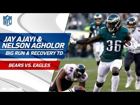 Video: Ajayi Fumbles After Great Run, But Agholor Falls on the Ball for TD! | Bears vs. Eagles | NFL Wk 12