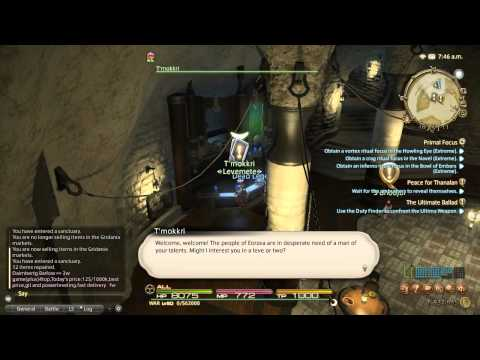 Final Fantasy XIV Armorer Leveling Guide – Repeatable Leves & Grinding