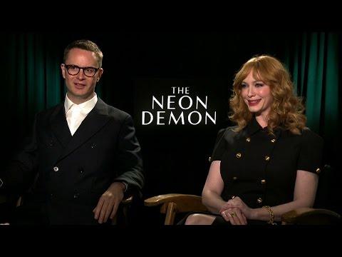 'THE NEON DEMON' Explained by Director Nicolas Refn & Actress Christina Hendricks