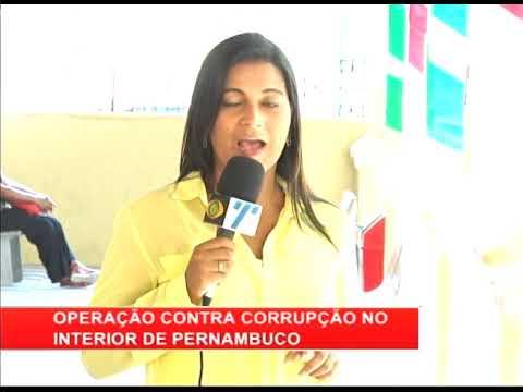 [RONDA GERAL] Operação contra corrupção no interior de Pernambuco