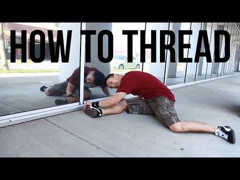 Брейк Данс: Threading. Видео урок.