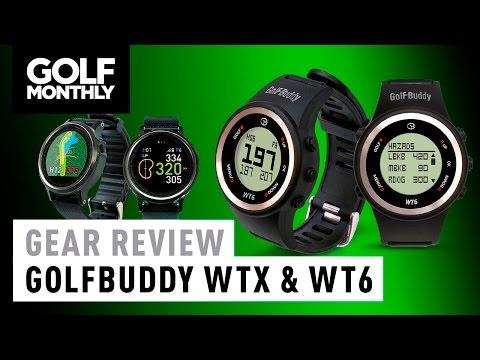 GolfBuddy WTX & WT6 GPS Watch Review
