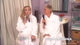 Madonna And Ellen Sing
