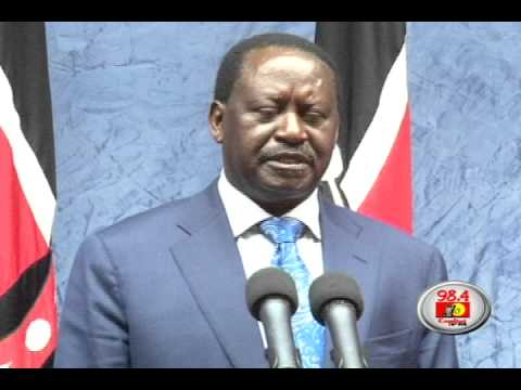 Raila commends Somalia on successful elections