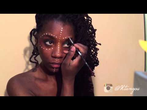Video African face paint tutorial: DOTS download in MP3, 3GP, MP4, WEBM, AVI, FLV January 2017