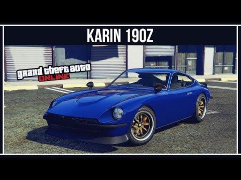 GTA Online: Karin 190z - Новая японская классика