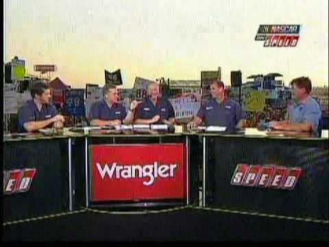 Michael Waltrip on Talledega at Kansas 2008