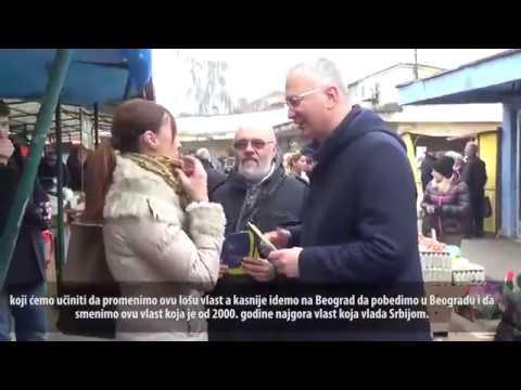 Шутановац у Костолцу: Грађани знају да је ДС уз њих!
