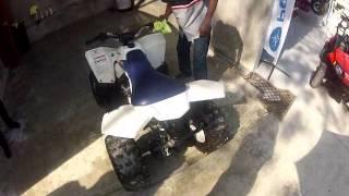 6. Tiano Quad Suzuki LTZ 90 Haiti Moto Sport