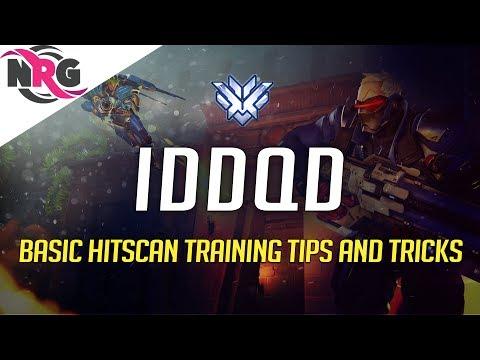 IDDQD 教學Hitscan角色(76、麥卡利、閃光、安娜)的基本和特殊技巧