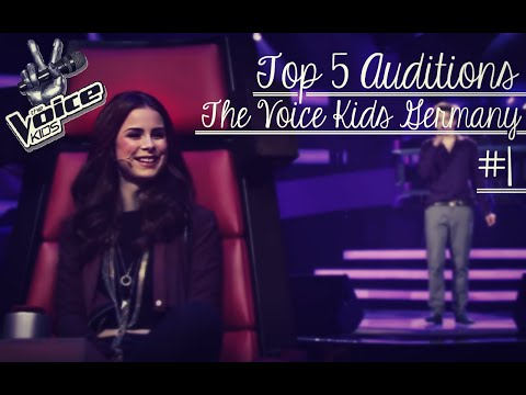 Top 5 Auditions | The Voice Kids Germany #1