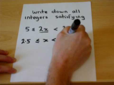 Ungleichheiten Teil 2 mit Mathslearn - probieren Sie die Revision Guides auf Mathslearn.co.uk