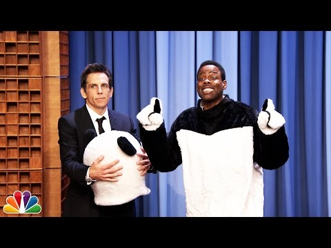 hashtag - Ben Stiller, who used to play Hashtag the Panda on the Tonight Show, reveals that the new Hashtag is Chris Rock. Subscribe NOW to The Tonight Show Starring Jimmy Fallon: http://bit.ly/1nwT1aN...