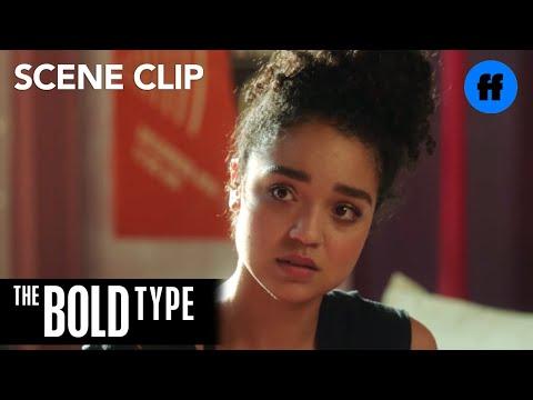 The Bold Type | Season 2, Episode 2: Kat Edison Bi-Racial Talk | Freeform