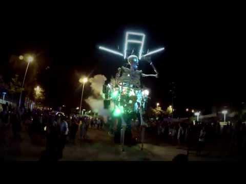 Vídeo oficial de Efimer del espectáculo 'The dance of the dead'.