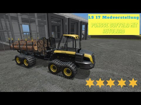 Ponsse Buffalo with autoload and loading aid v1.2