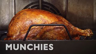 A Thanksgiving Turkey Roast by Munchies