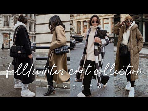 MY FALL/WINTER COAT COLLECTION 2020 | ALYSSA LENORE