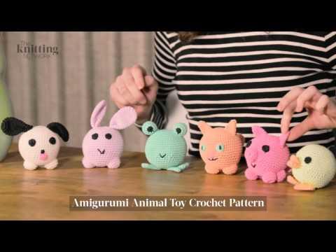 Amigurumi Animal Toy Crochet Pattern (The Knitting Network WTD015)