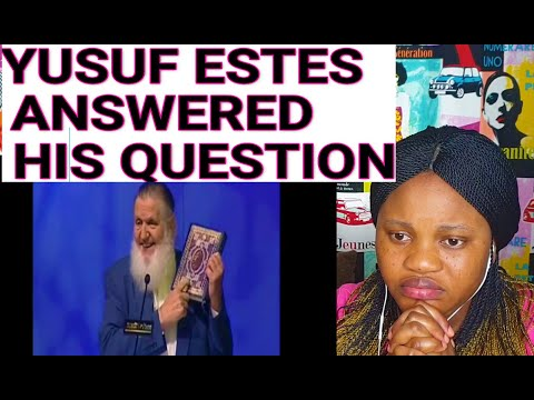 Christian Bursted In Tears After Yusuf Estes Answered His Question! (REACTION )