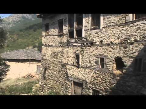 The vlachs village of Milovista (Maloviste) in North Macedonia