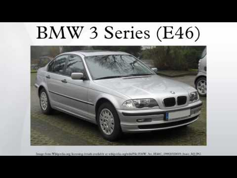 BMW 3 Series (E46)