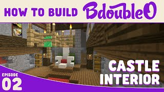 Minecraft Tutorial :: How to build Castle Interior