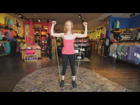 Tension Band Workout – Training Video for Women on Toning Your Muscle Definition