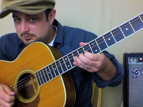 "How To Play Acoustic Guitar Lesson Basic Finger Picking - Robin Thicke ""Lost Without You"""