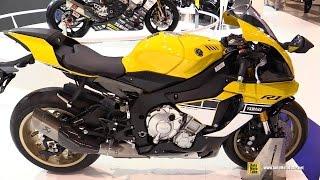 10. 2016 Yamaha YZF R1 60th Anniversary - Walkaround - 2015 EICMA Milan