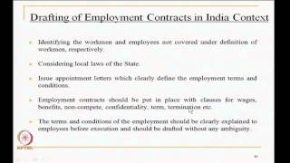 Mod-03 Lec-38 Indian Industrial Law And Managing Industrial Contd..