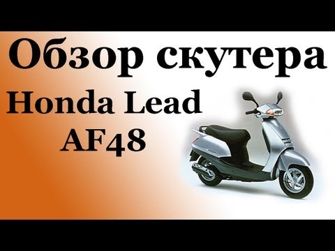 Характеристика honda lead af48 фотография