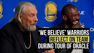 'We Believe' Warriors reflect on team in last tour of Oracle Arena