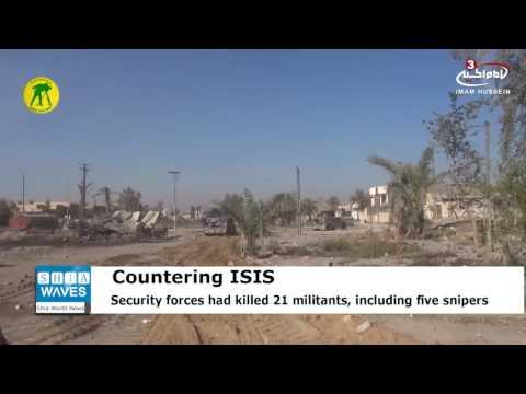 Video Iraqi Hashd al-Sha'abi forces retake nine villages west of Mosul from Daesh download in MP3, 3GP, MP4, WEBM, AVI, FLV January 2017