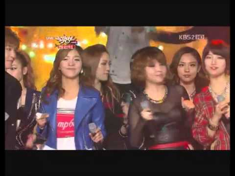 121221 Music Bank Year End Special - All I Want For Christmas Is You