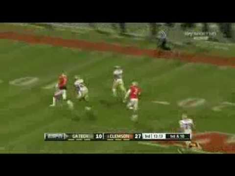 Robert Godhigh vs Clemson 2013 video.