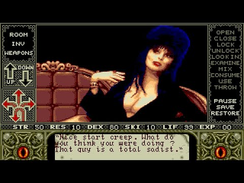 Elvira : Mistress of the Dark Amiga