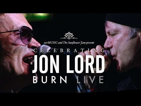 Celebrating Jon Lord 'Burn' (Dickinson, Hughes, Paice, Airey & Wakeman) Official Video Preview