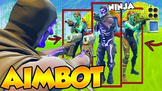I tried out for Ninja's Clan with Aimbot?! (I GOT IN)